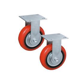 Колеса поворотные c боковым тормозом